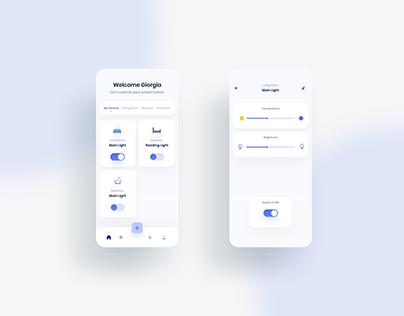 Light Controller App UI