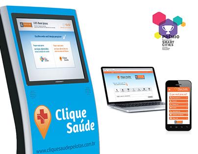App, Web and Totem - Clique Saúde - Health Platform
