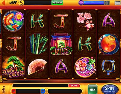 Bonsai Garden casino slot for Scientific Games