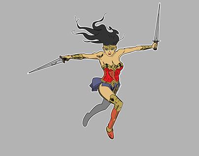 Las mujeres más fuertes del cómic.