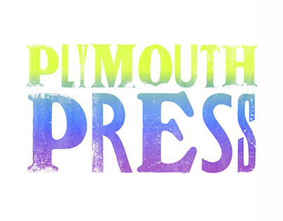 PlymouthPress Experimental Typeface