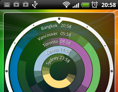 It's Business Time - Time Zone Widget