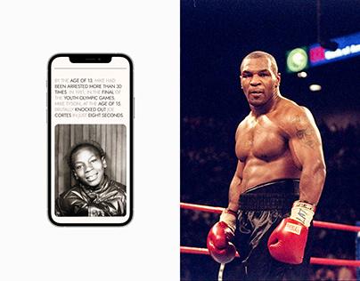 IRON Mike Tyson