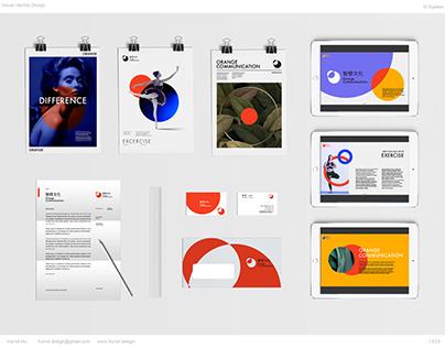 Visual Identity Design for Orange Commincations
