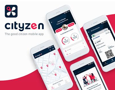 CityZen App - UI/UX Design
