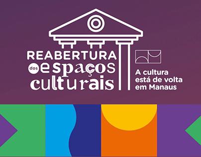 Prefeitura de Manaus - Reabertura dos espaços públicos