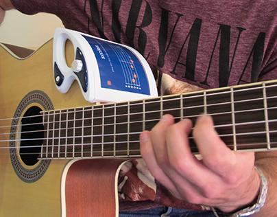 Tabtutor - portable guitar teaching device