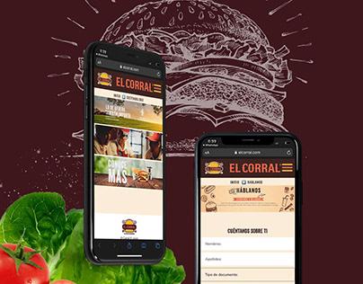 El Corral - Sitio Web