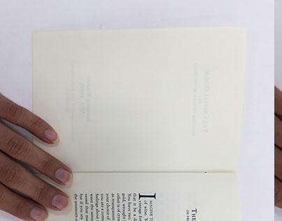 The Crystal Goblet Book Design