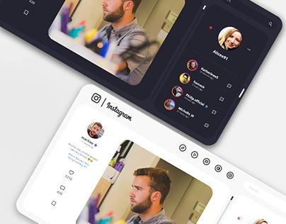 Redesign Instagram Concept