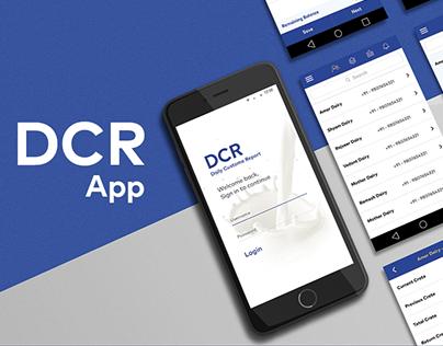 DCR - Daily Customer Report Mobile App