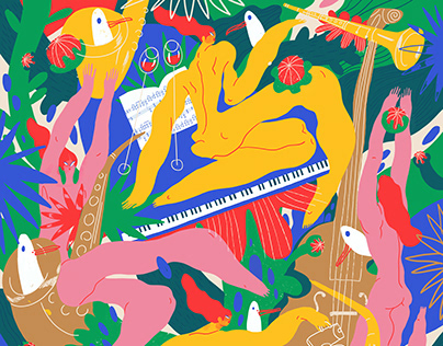 Poster for Montreux Jazz Festival