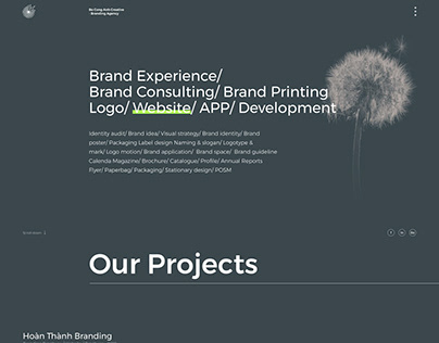 LAUNCHING OUR NEW WEBSITE - BOCONGANH CREATIVE AGENCY