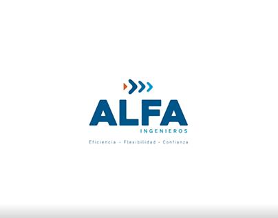 Animación logo / ALFA