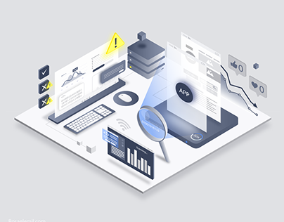 Isometric Design- App evaluation system