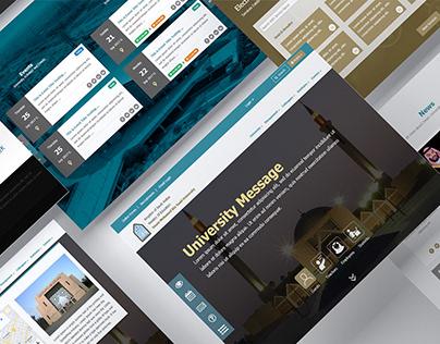 Imam University | E-Portal Design