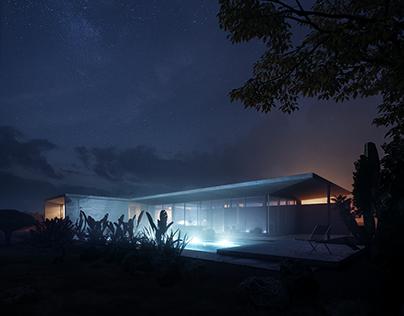 CGi - Concrete House in California