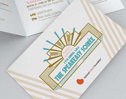 National Kidney Foundation Gala Invitation Package
