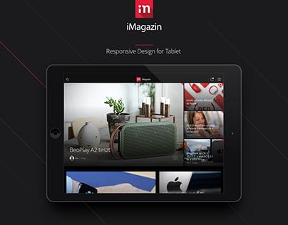 iMagazine App Design