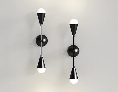 Free 3d model / Dyad Sconce Lamp By Apparatus