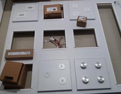Fabricación de exhibidores para Ventor International