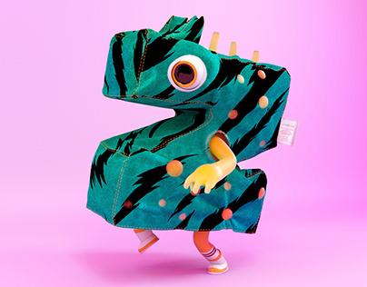 Monster Clothes Alphabet