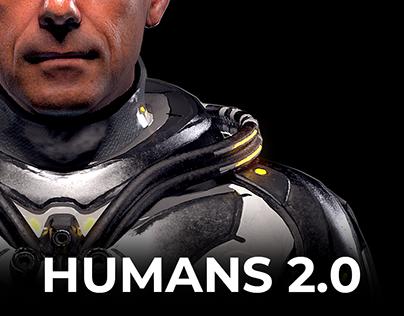 HUMANS 2.0 // Meta Body - Mars Scientist