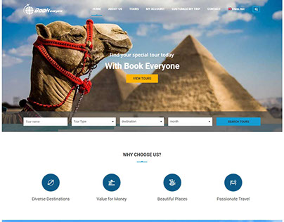 Tour & Travel Booking System With Online Payment Method