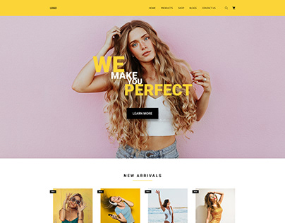 E-commerce Landing Page for Women's Fashion