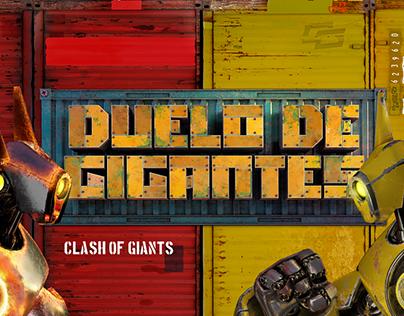 Clash of Giants – Interactive Climbing Wall