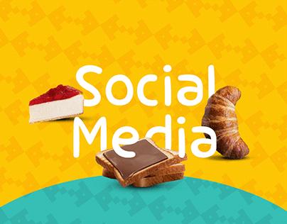 Social Media | Fathi Amros Bakery