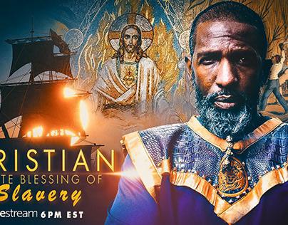 """""""Christian White Blessing of Slavery"""""""