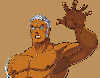 Urien 'Who Dat?' art