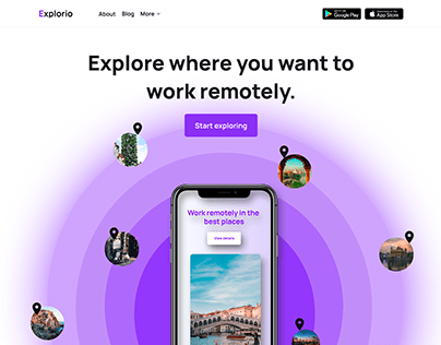 Explorio | Work remotely in the best places