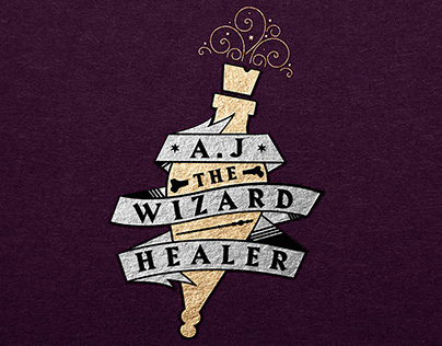 AJ The Wizard Healer: Branding