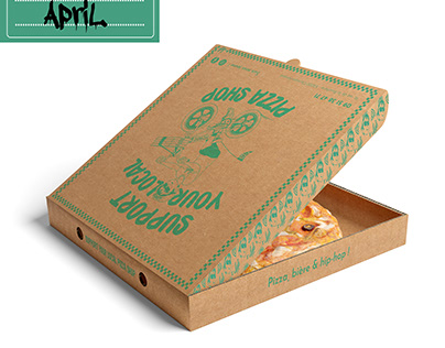 PACKAGING   Pizza box