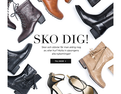 Shoes newsletter AW15 (Cellbes)