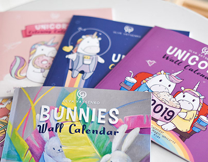Coloring Books and Calendars