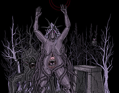 Shubb Niggurath. the black goat of the woods