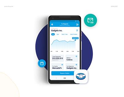 UI/UX Mercado Libre's work trial App and Landing