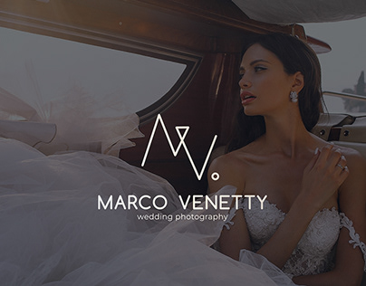 Logo and identity for wedding photographer