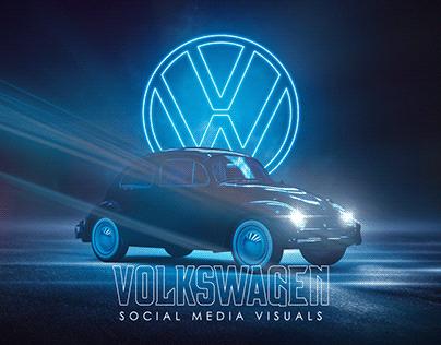 Volkswagen Social Media Visuals