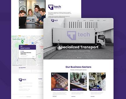 T-Tech Web Design (Homepage Preview)