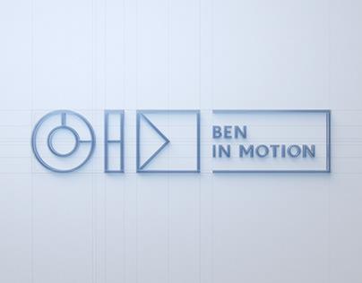 BEN IN MOTION: MOTION REEL