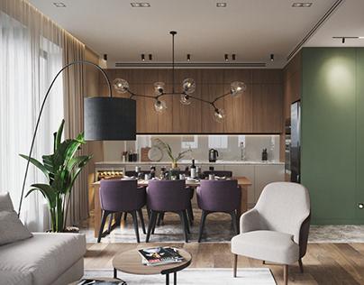 Cozy Interior 3d Visualization