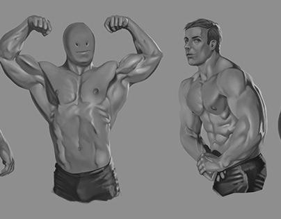 Study anatomy