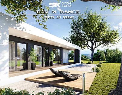 house in frame SK-ARCHITEKCI