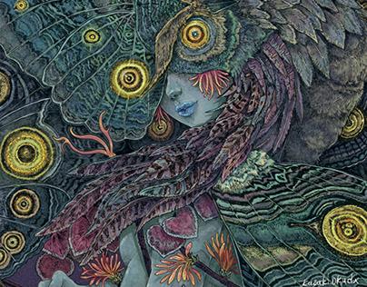 original work Beautiful Scary Holy Spirits