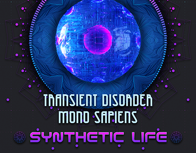 cdCover & Social Banners - Synthetic Life EP