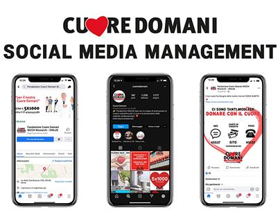 Cuore Domani Social Media Management